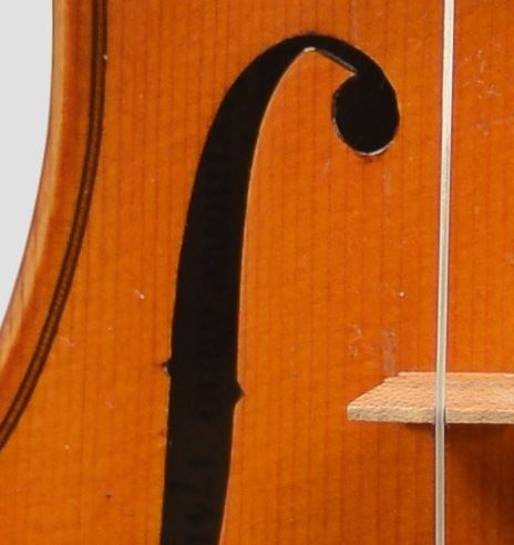 French 20th century violin (copy of Guarnerius)